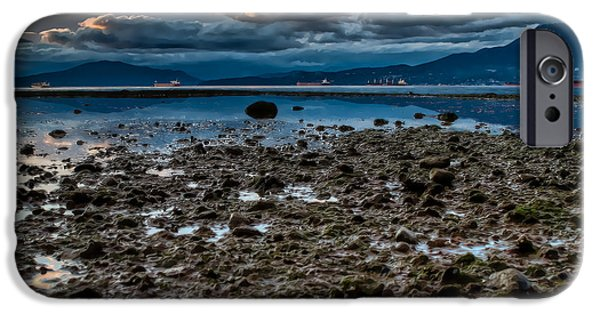 Bc Coast iPhone Cases - Boats a waiting iPhone Case by James Wheeler