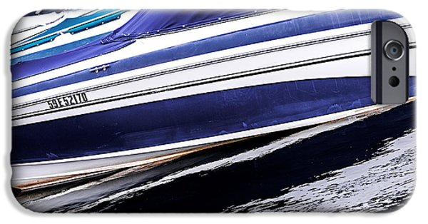 Boat iPhone Cases - Boats and reflections iPhone Case by Elena Elisseeva