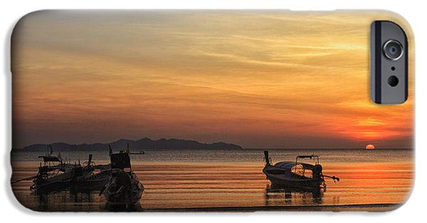 Etc. Photographs iPhone Cases - Boats iPhone Case by Mark Anthony Bansag