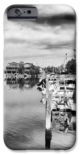 Boats of Long Beach Island iPhone Case by John Rizzuto