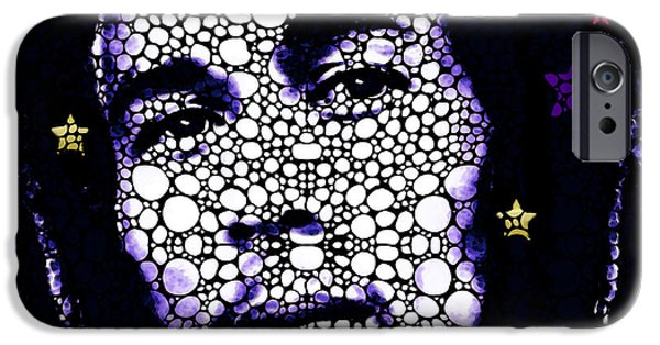 Joints iPhone Cases - Bob Marley Tribute - Music Art By Sharon Cummings iPhone Case by Sharon Cummings