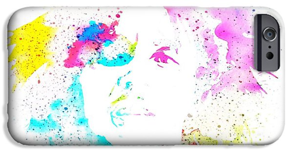 Revolution Mixed Media iPhone Cases - Bob Marley Watercolor iPhone Case by Dan Sproul