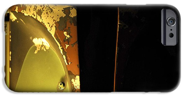 Recently Sold -  - Jet Star iPhone Cases - Boba Fett Helmet 121 iPhone Case by Micah May