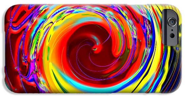 Business Digital iPhone Cases - Bobbys Big Ride iPhone Case by Wendy J St Christopher
