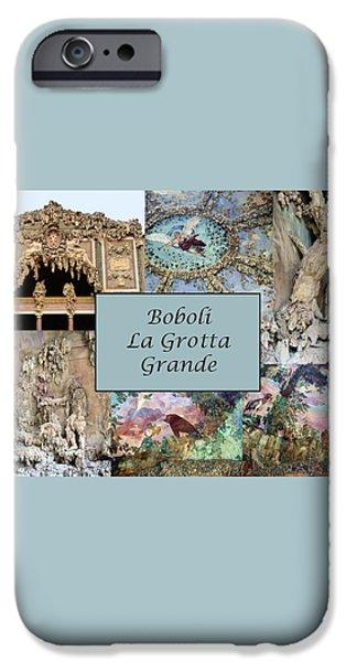 Boboli La Grotta Grande 1 iPhone Case by Ellen Henneke