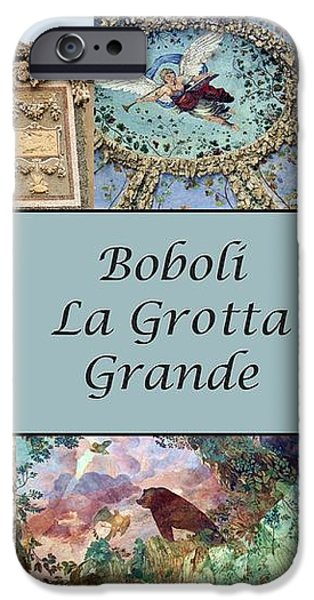 Boboli La Grotta Grande 1 iPhone Case by Ellen Henneke