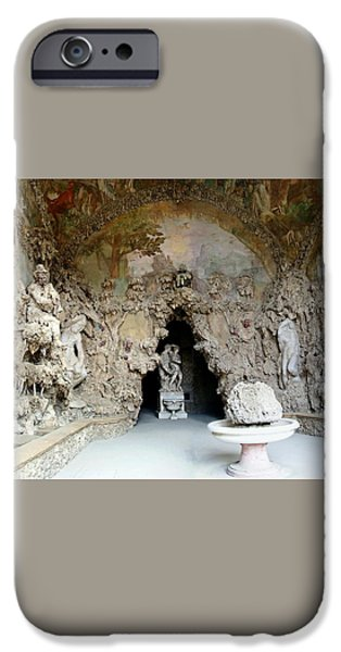 Boboli La Grotta Grande 3 iPhone Case by Ellen Henneke