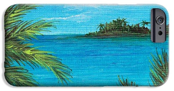 Interior Scene iPhone Cases - Boca Chica Beach iPhone Case by Anastasiya Malakhova