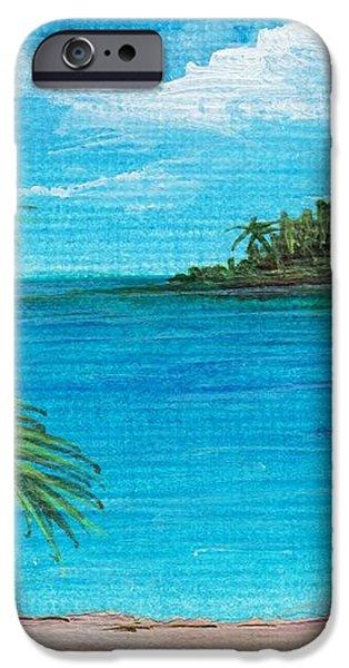 Boca Chica Beach iPhone Case by Anastasiya Malakhova