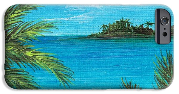 Tree iPhone Cases - Boca Chica Beach iPhone Case by Anastasiya Malakhova
