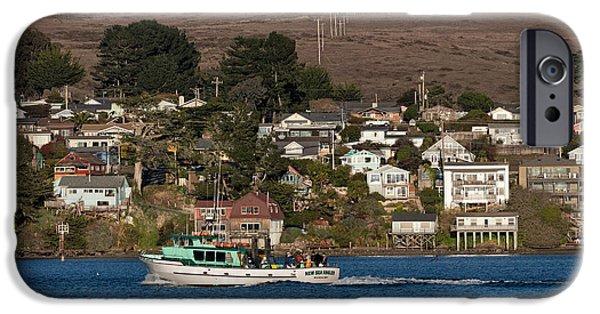 Best Sellers -  - Cabin Window iPhone Cases - Bodega Bay in December iPhone Case by Kathleen Bishop