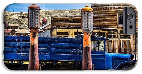 Lodes iPhone Cases - Bodie Gas iPhone Case by Steven Bateson