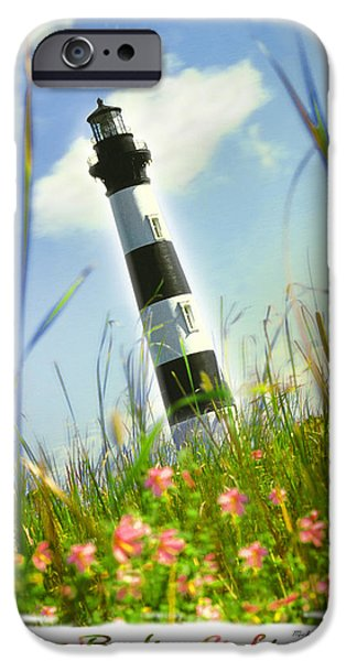 Lighthouse Digital iPhone Cases - Bodie Light II iPhone Case by Mike McGlothlen