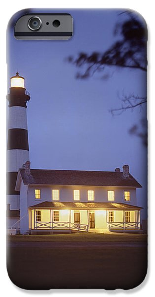 Evening Digital Art iPhone Cases - Bodie Light just After Dark iPhone Case by Mike McGlothlen