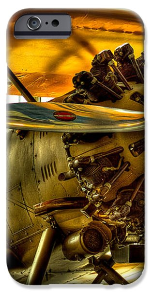 Boeing 100P Fighter iPhone Case by David Patterson