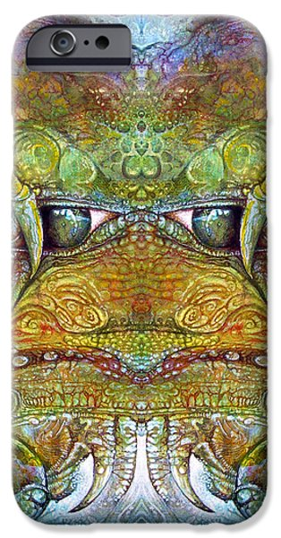 Bogomil Variation 12 iPhone Case by Otto Rapp