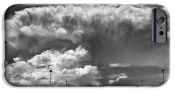 Boiling Sky iPhone Case by Trever Miller