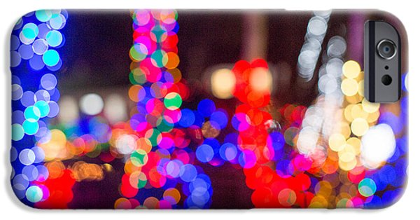 Bokeh iPhone Cases - Bokeh Magic 1 iPhone Case by Rebecca Cozart