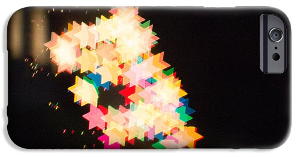 Bokeh iPhone Cases - Bokeh Magic 2 iPhone Case by Rebecca Cozart