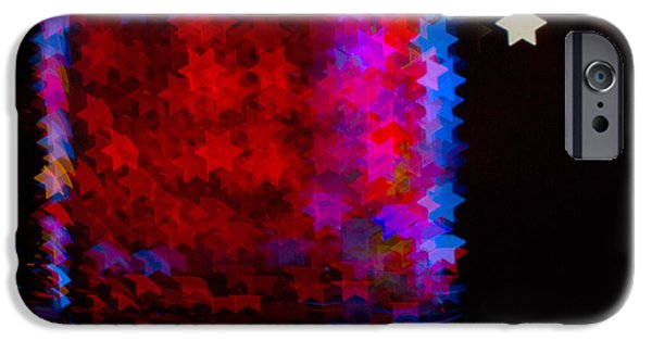 Bokeh iPhone Cases - Bokeh Magic 5 iPhone Case by Rebecca Cozart