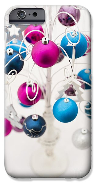 Bold Baubles iPhone Case by Anne Gilbert