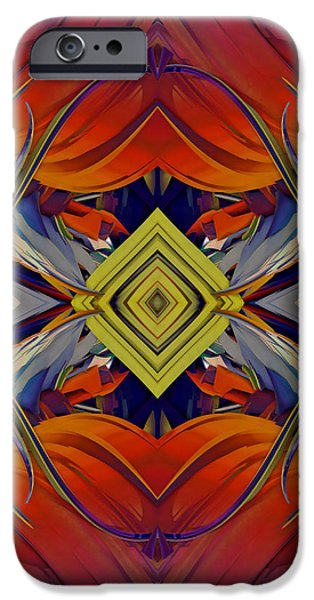 Boldness of Color iPhone Case by Deborah Benoit