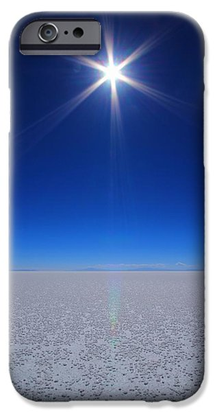 Twinkle iPhone Cases - Bolivian Salt iPhone Case by FireFlux Studios