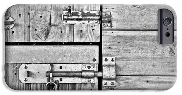 Valuable iPhone Cases - Bolts iPhone Case by Tom Gowanlock