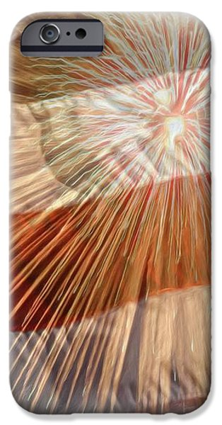 Bombs Bursting In Air iPhone Case by Heidi Smith
