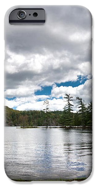 Bon Echo Lagoon Panorama iPhone Case by Cale Best