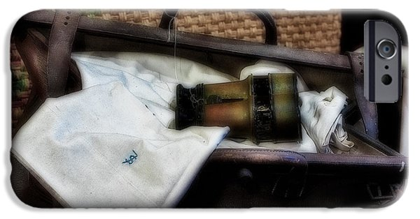 Diffusion iPhone Cases - Bon Voyage iPhone Case by Susan Candelario