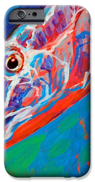 Bonefish Closeup iPhone Case by Mike Savlen