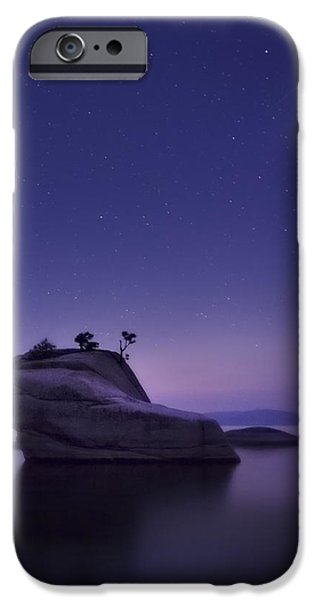 Shower iPhone Cases - Bonsai Island iPhone Case by Sean Foster