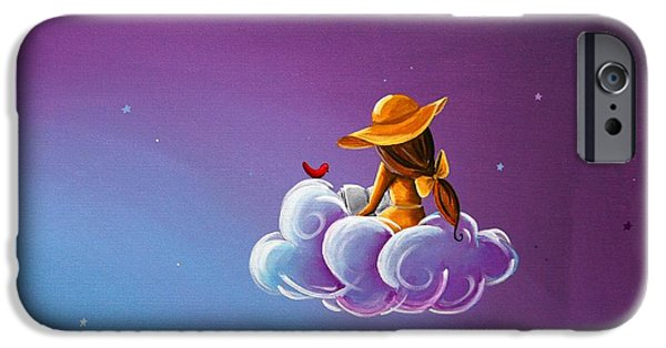 Storybook iPhone Cases - Book of Dreams iPhone Case by Cindy Thornton