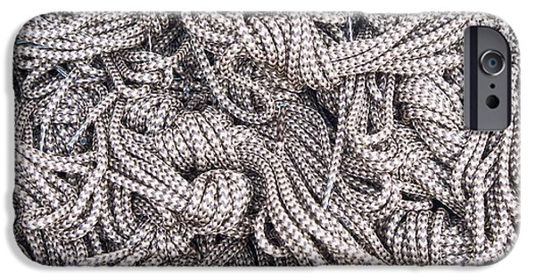 Accessories iPhone Cases - Boot laces iPhone Case by Tom Gowanlock