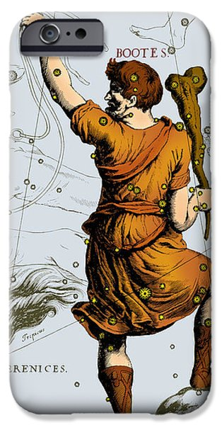 Bootes Constellation, 1687 iPhone Case by Science Source