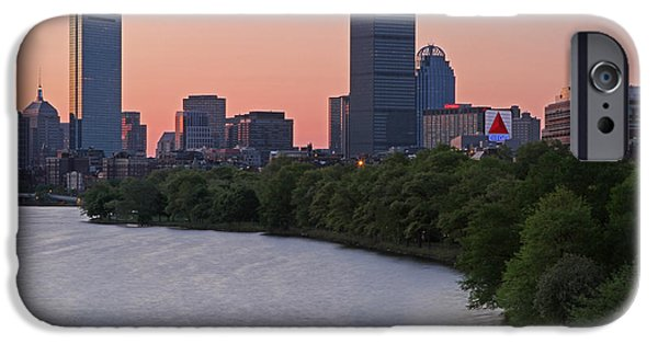 Charles River iPhone Cases - Boston Awakening iPhone Case by Juergen Roth
