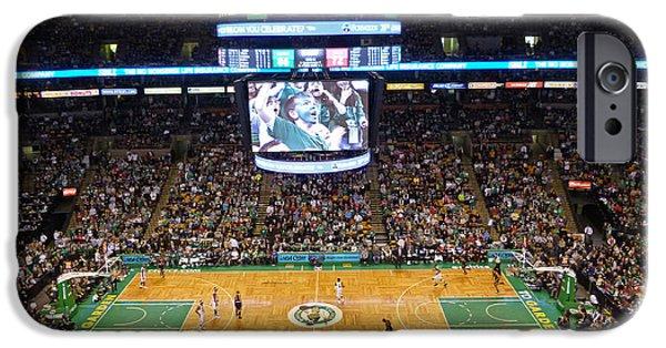 Boston Celtics iPhone Cases - Boston Celtics iPhone Case by Juergen Roth