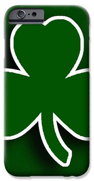 Boston Celtics iPhone Case by Tony Rubino