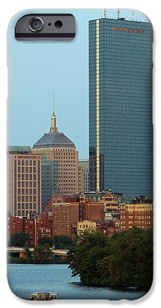 Charles River iPhone Cases - Boston Charles River Family Fun iPhone Case by Juergen Roth
