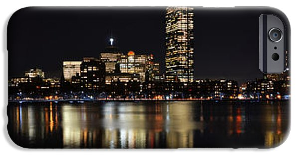 Boston Ma iPhone Cases - Boston Charles River Panorama iPhone Case by Toby McGuire