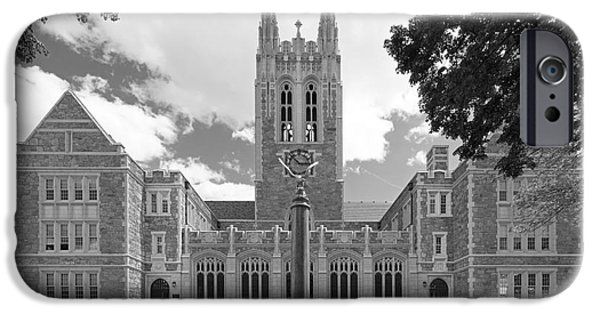 Graduation iPhone Cases - Boston College Gasson Hall iPhone Case by University Icons