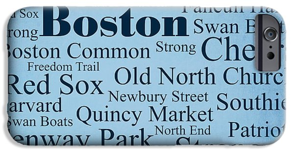Fenway Park iPhone Cases - Boston iPhone Case by Denyse and Laura Design Studio