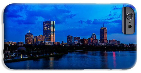 Recently Sold -  - Charles River iPhone Cases - Boston Evening iPhone Case by Rick Berk