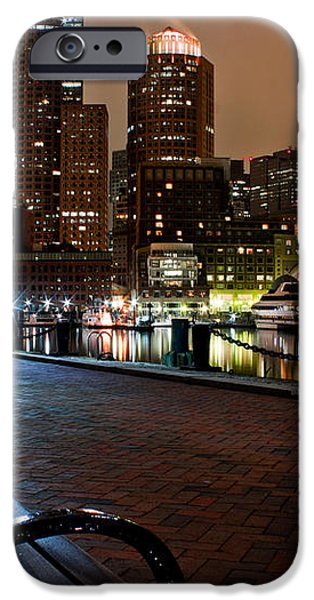 Boston Harbor  iPhone Case by John McGraw