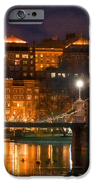 Boston Lagoon Bridge 2 iPhone Case by Joann Vitali