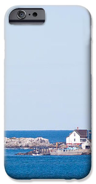 Boston Lighthouse iPhone Case by Nomad Art And  Design