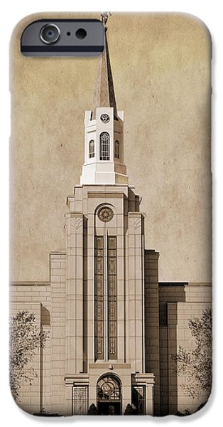 Recently Sold -  - Boston iPhone Cases - Boston MA Temple iPhone Case by David Simpson