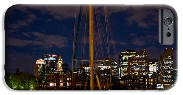 City. Boston iPhone Cases - Boston Mass  iPhone Case by John McGraw