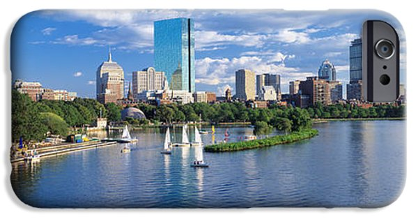 Boston Ma iPhone Cases - Boston, Massachusetts, Usa iPhone Case by Panoramic Images